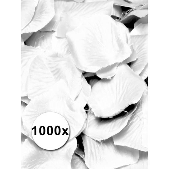 Image of Feest rozenblaadjes wit 1000 st
