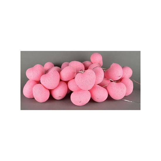 Kinderkamer lichtsnoer hartjes roze - Bruiloft versiering en ...
