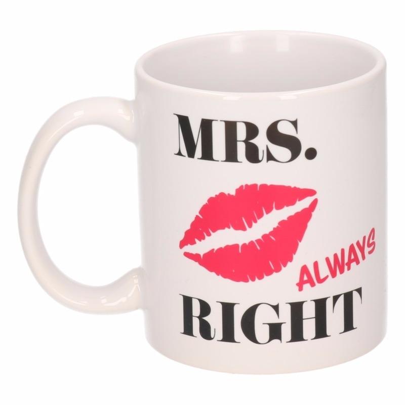 Image of Mrs Always Right mok / beker 300 ml