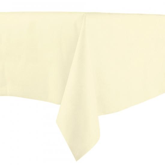 Papieren tafelkleed cream 140 x 240 cm