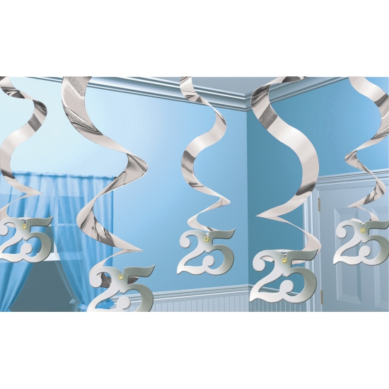 25 jaar jubileum rotorspiraal zilver