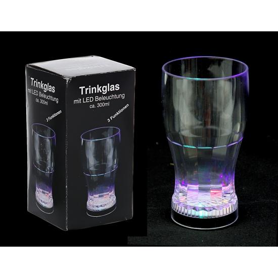 Led Verlichting Keuken Batterij : Glas met led verlichting – Bruiloft versiering en feestwinkel